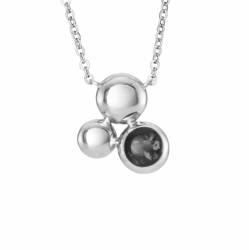 EverWith Ladies Rondure Array Memorial Ashes Necklace
