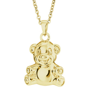 EverWith™ Self-fill Teddy Bear Memorial Ashes Pendant