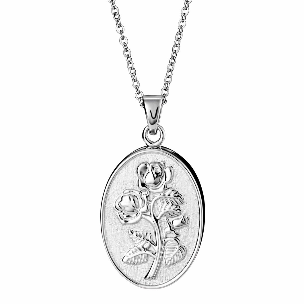 EverWith™ Self-fill Blossoming Rose Memorial Ashes Pendant