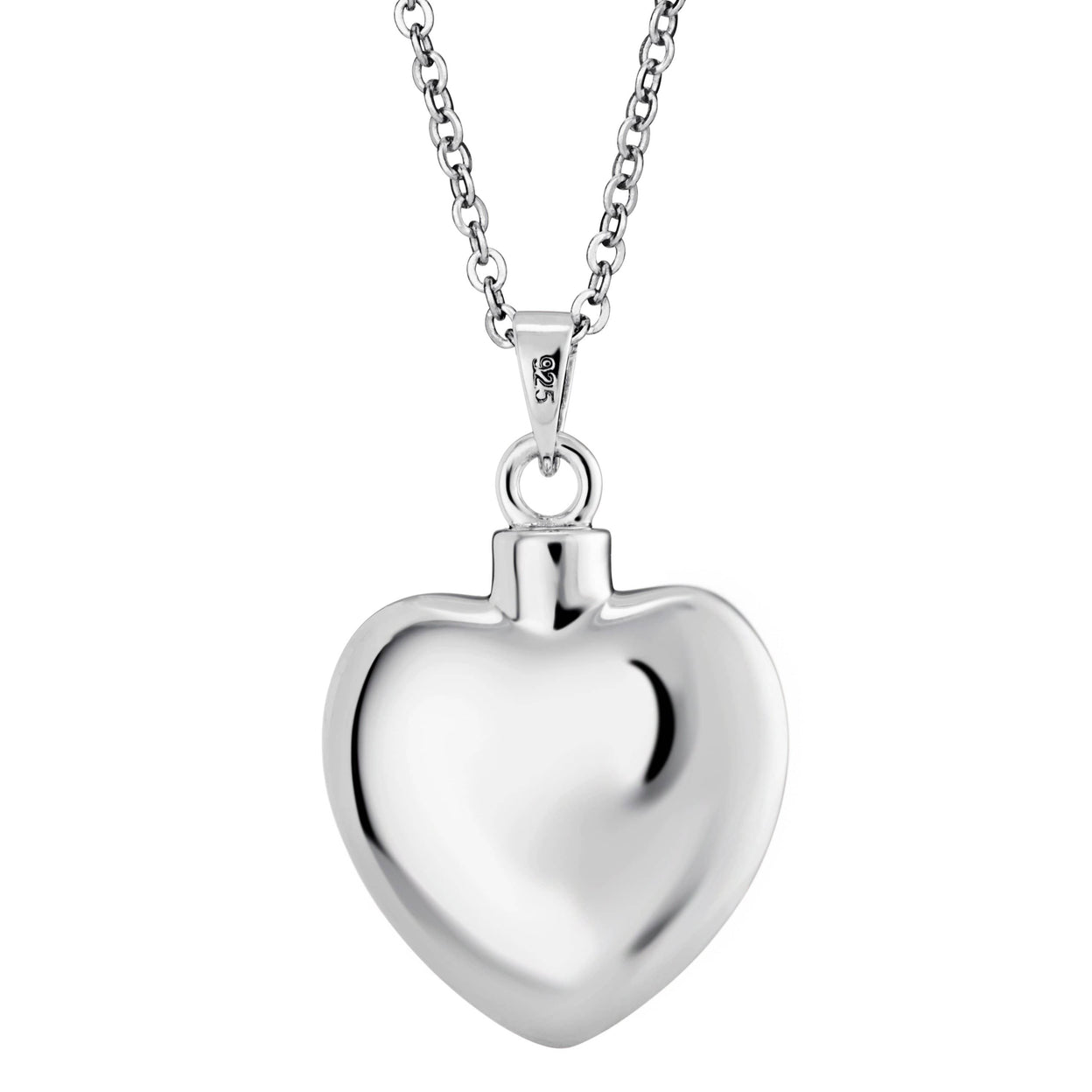 Load image into Gallery viewer, EverWith™ Self-fill Elegant Heart Memorial Ashes Pendant