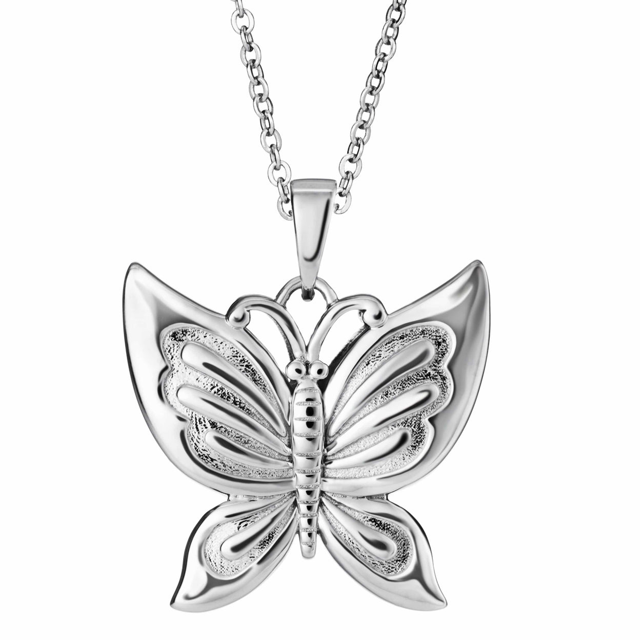 Load image into Gallery viewer, EverWith™ Self-fill Butterfly Memorial Ashes Pendant