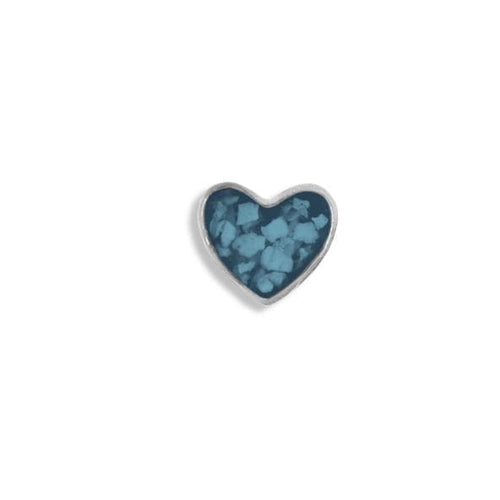 EverWith Small Heart Memorial Ashes Element for Glass Locket