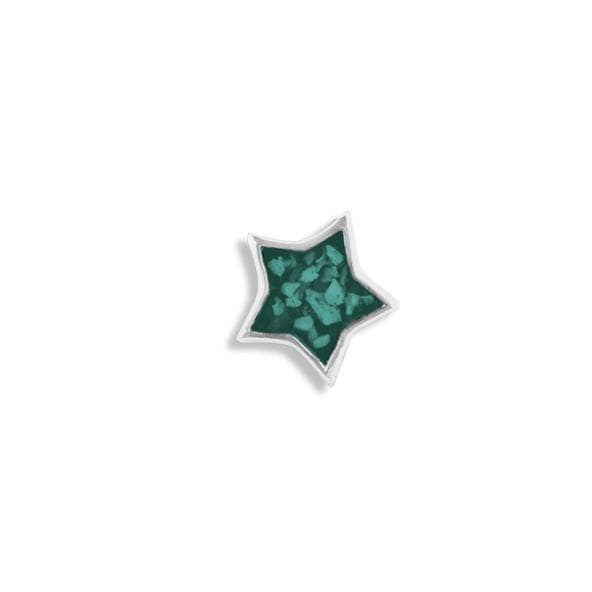 Load image into Gallery viewer, EverWith™ Small Star Memorial Ashes Element for Glass Locket
