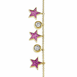 EverWith™ Ladies Galaxy Memorial Ashes Bracelet with Swarovski Crystals