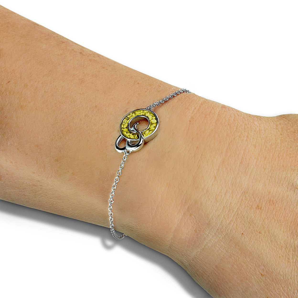 Load image into Gallery viewer, EverWith Ladies Guardian Memorial Ashes Bracelet