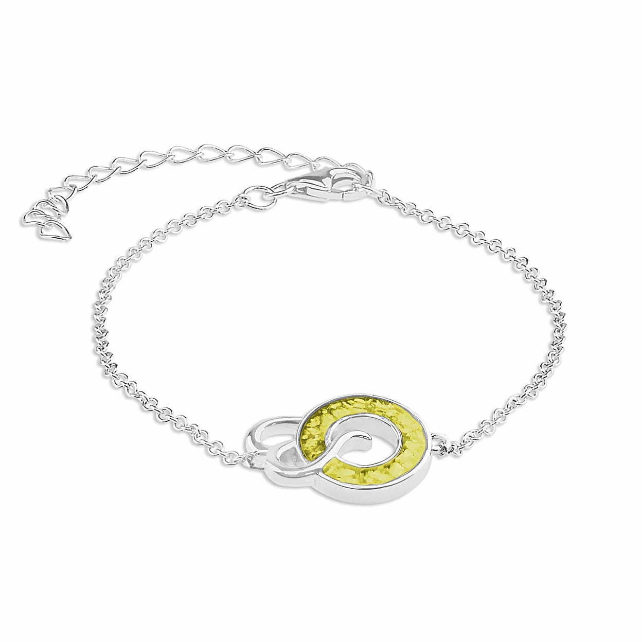 Load image into Gallery viewer, EverWith™ Ladies Guardian Memorial Ashes Bracelet