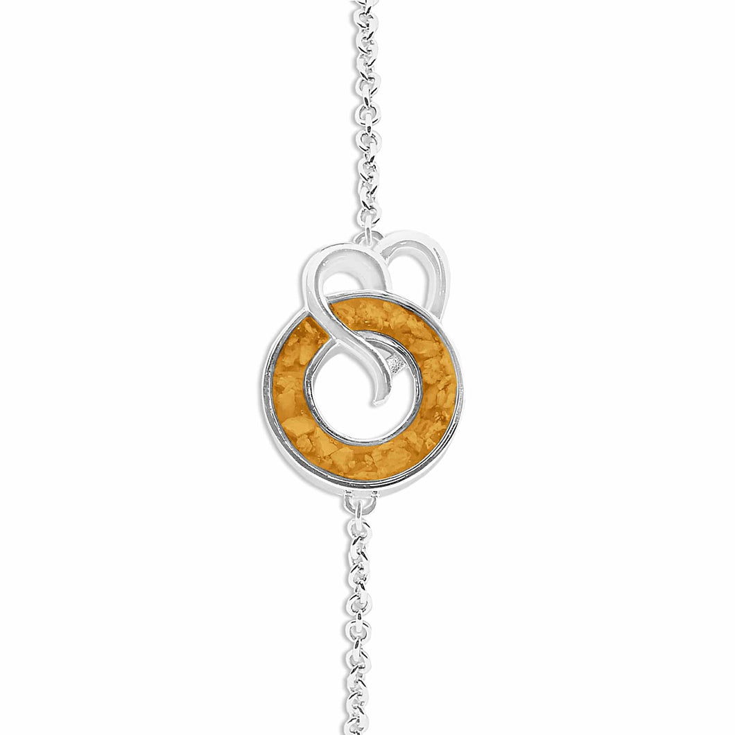 EverWith Ladies Guardian Memorial Ashes Bracelet