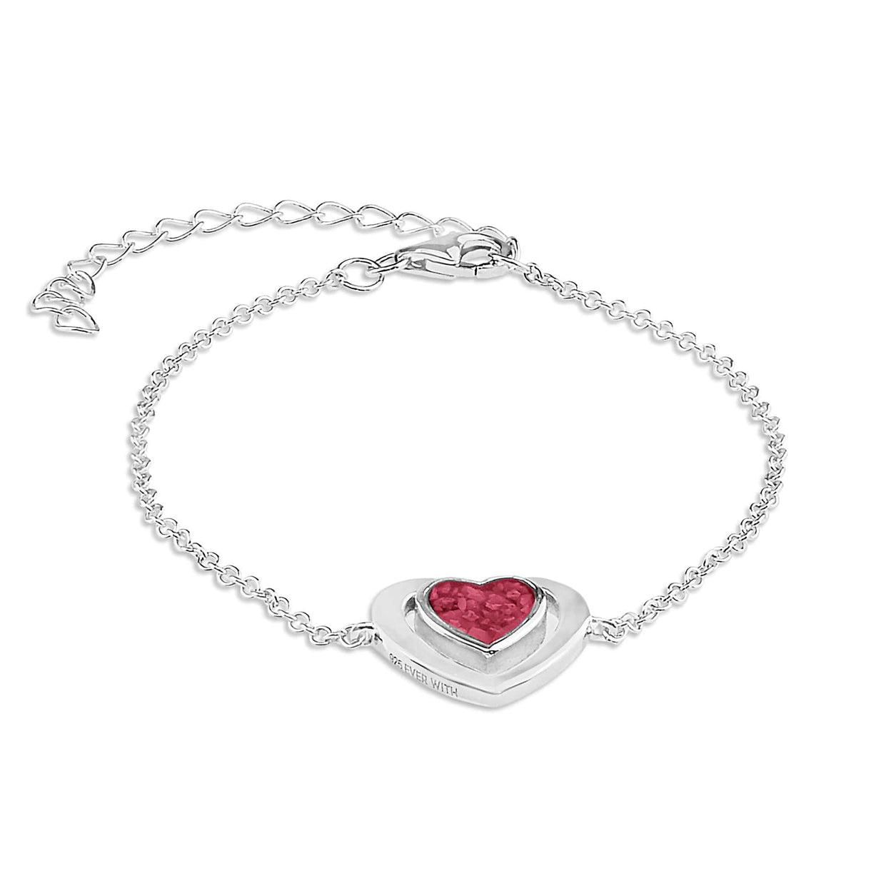 Load image into Gallery viewer, EverWith™ Ladies Valentine Memorial Ashes Bracelet