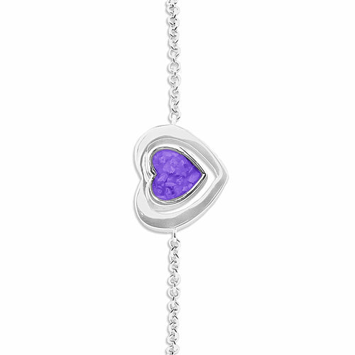 EverWith™ Ladies Valentine Memorial Ashes Bracelet