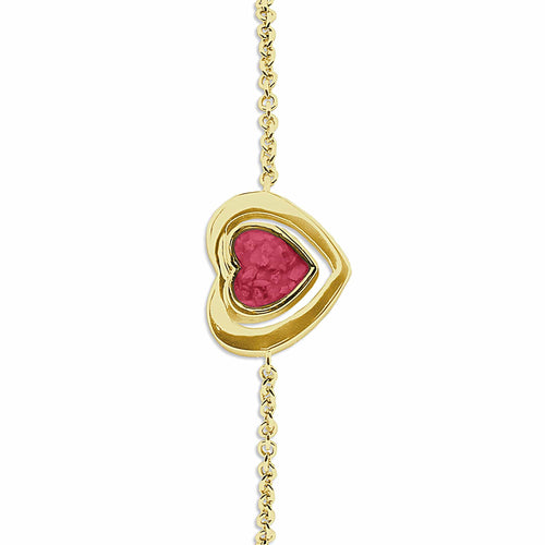 EverWith Ladies Valentine Memorial Ashes Bracelet