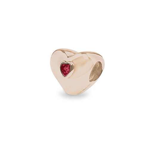 EverWith™ Heart Memorial Ashes Charm Bead