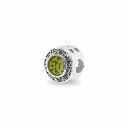 EverWith™ Admire Memorial Ashes Charm Bead with Swarovski Crystals