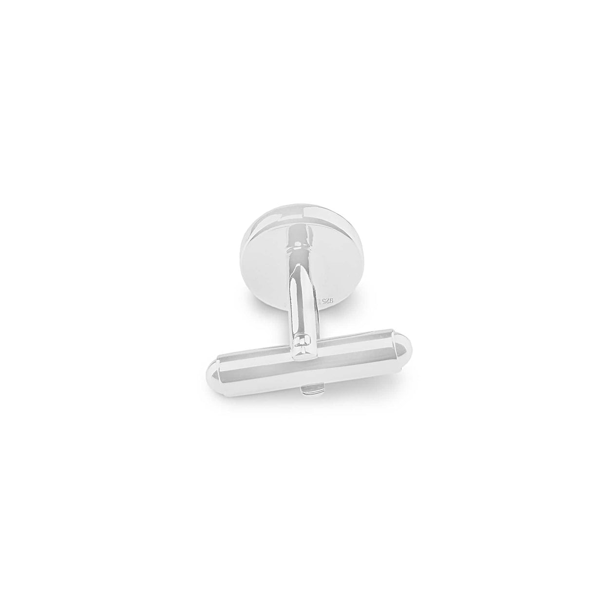 Load image into Gallery viewer, EverWith™ Gents Classic Round Memorial Ashes Cufflinks