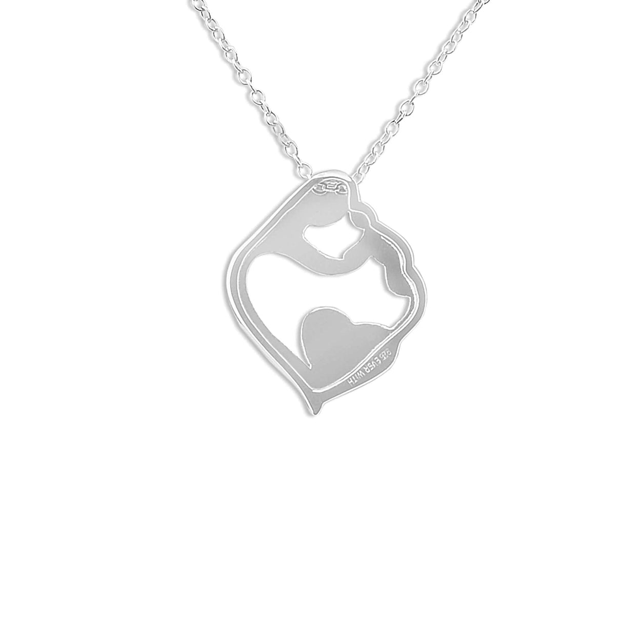 Load image into Gallery viewer, EverWith™ Ladies Mother and Child Memorial Ashes Pendant