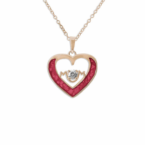 EverWith™ Ladies Mum Memorial Ashes Pendant with Swarovski Crystal