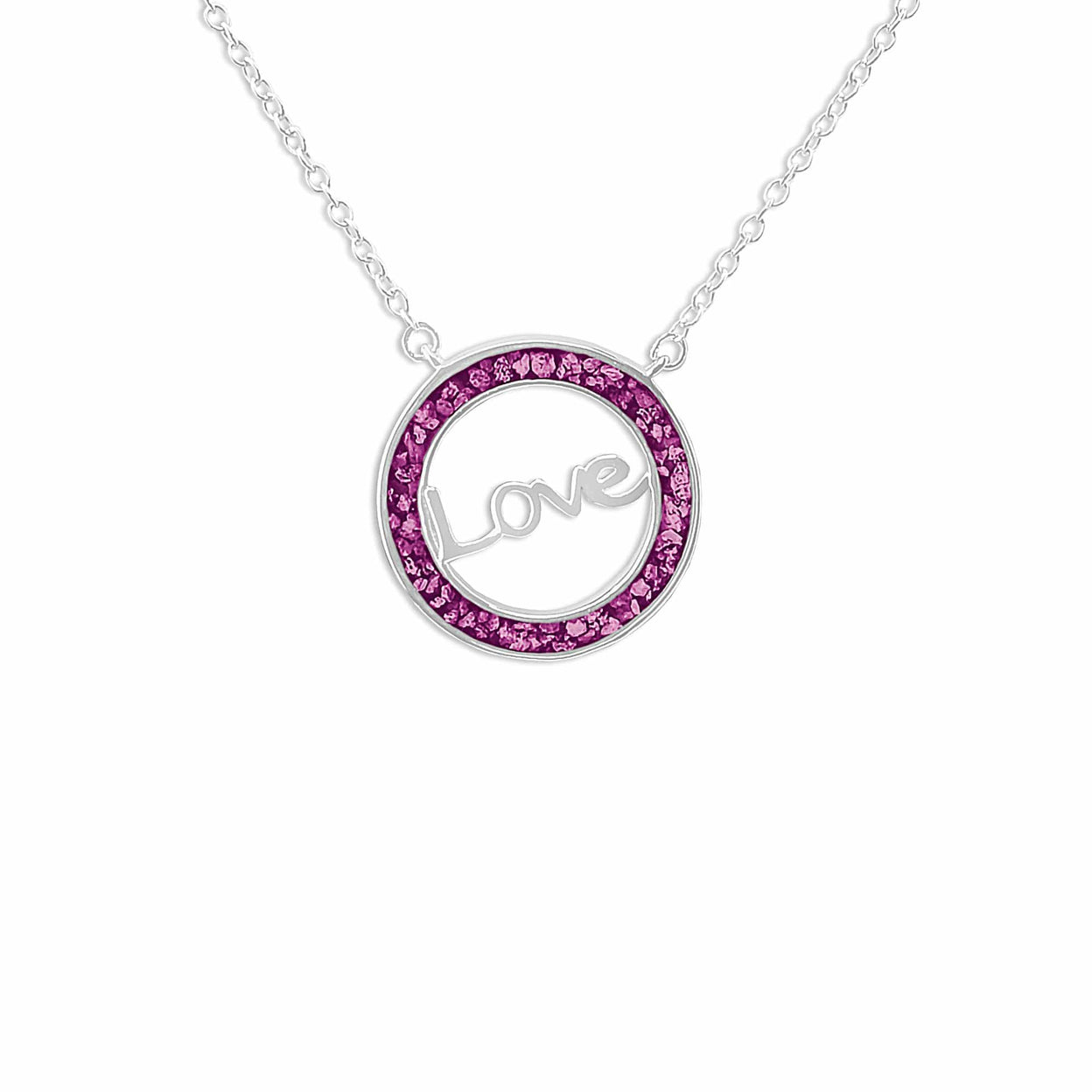 Load image into Gallery viewer, EverWith™ Ladies Love Memorial Ashes Necklace