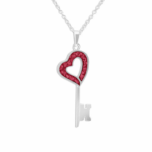 EverWith™ Ladies Key Memorial Ashes Pendant