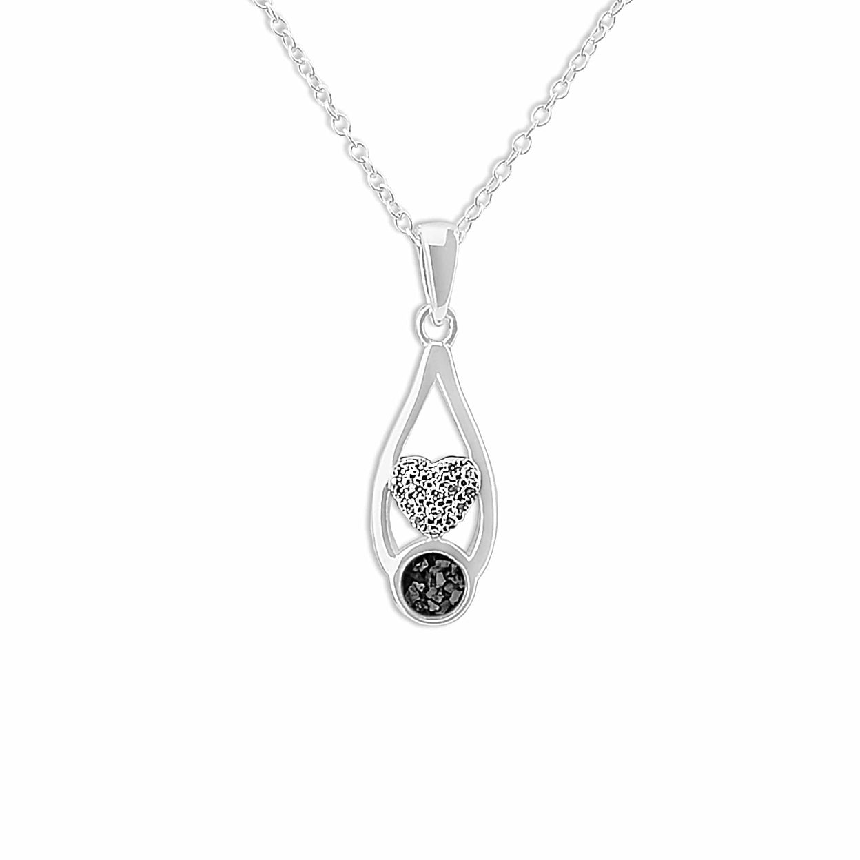 Load image into Gallery viewer, EverWith™ Ladies Protect Memorial Ashes Pendant with Swarovski Crystals