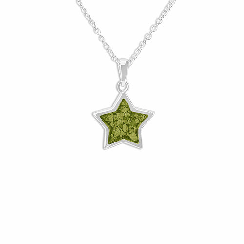 EverWith Ladies Star Memorial Ashes Pendant