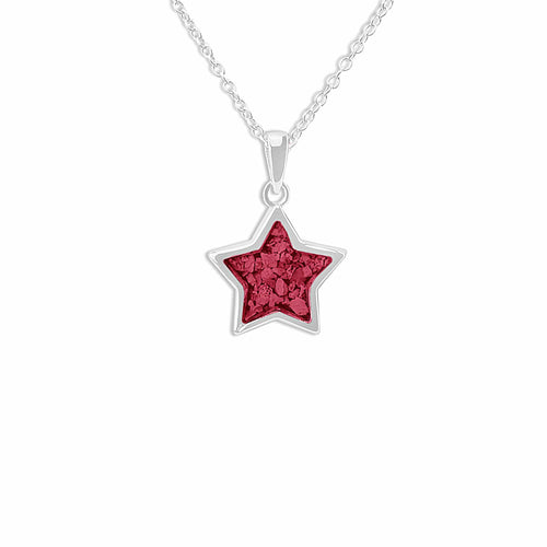 EverWith™ Ladies Star Memorial Ashes Pendant