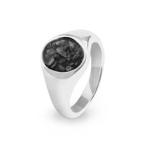 EverWith™ Unisex Shield Memorial Ashes Ring