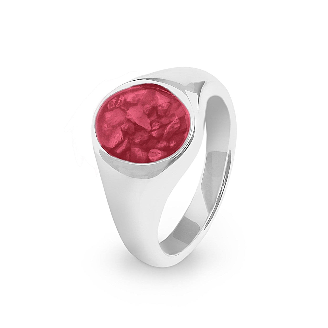 Load image into Gallery viewer, EverWith Unisex Shield Memorial Ashes Ring