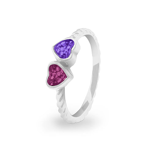 EverWith™ Ladies Together Memorial Ashes Ring