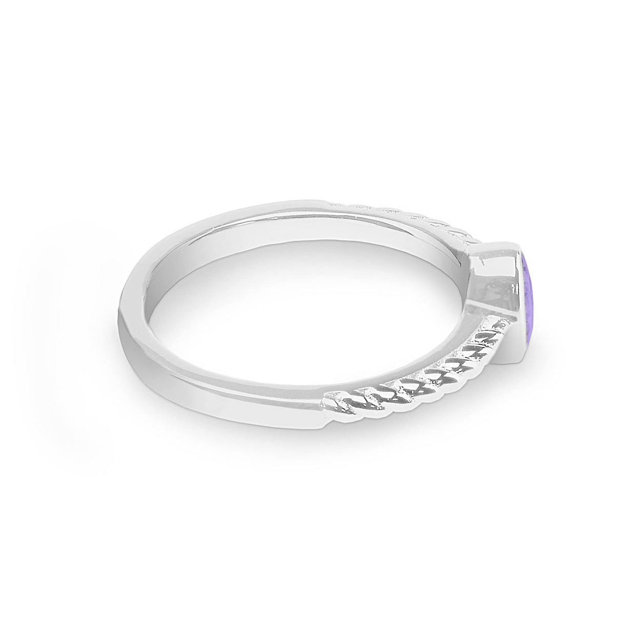 Load image into Gallery viewer, EverWith™ Ladies Petite Guard Memorial Ashes Ring