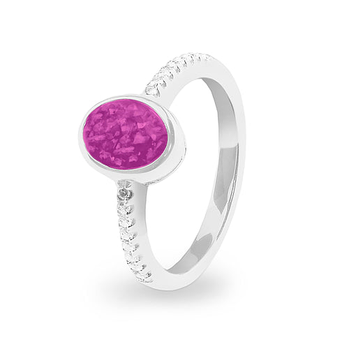EverWith™ Ladies Guard Memorial Ashes Ring