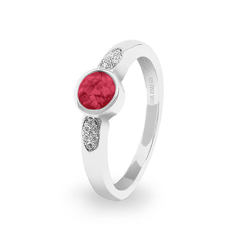 EverWith™ Ladies Special Memorial Ashes Ring with Swarovski Crystals