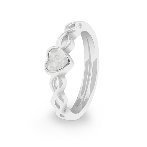EverWith Ladies Beau Memorial Ashes Ring