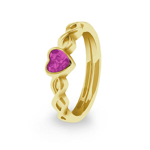 EverWith™ Ladies Beau Memorial Ashes Ring