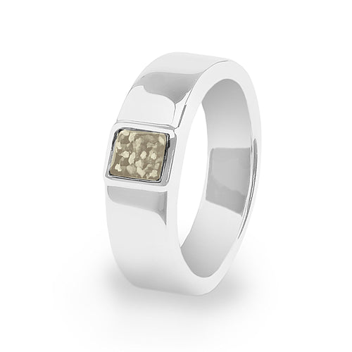 EverWith™ Unisex Strength Memorial Ashes Ring