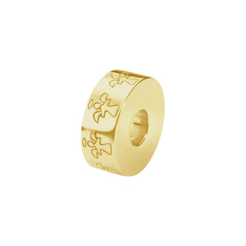 EverWith  Self-fill Round Angel Memorial Ashes Charm Bead