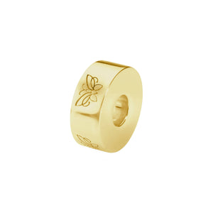 EverWith™  Self-fill Round Butterfly Memorial Ashes Charm Bead