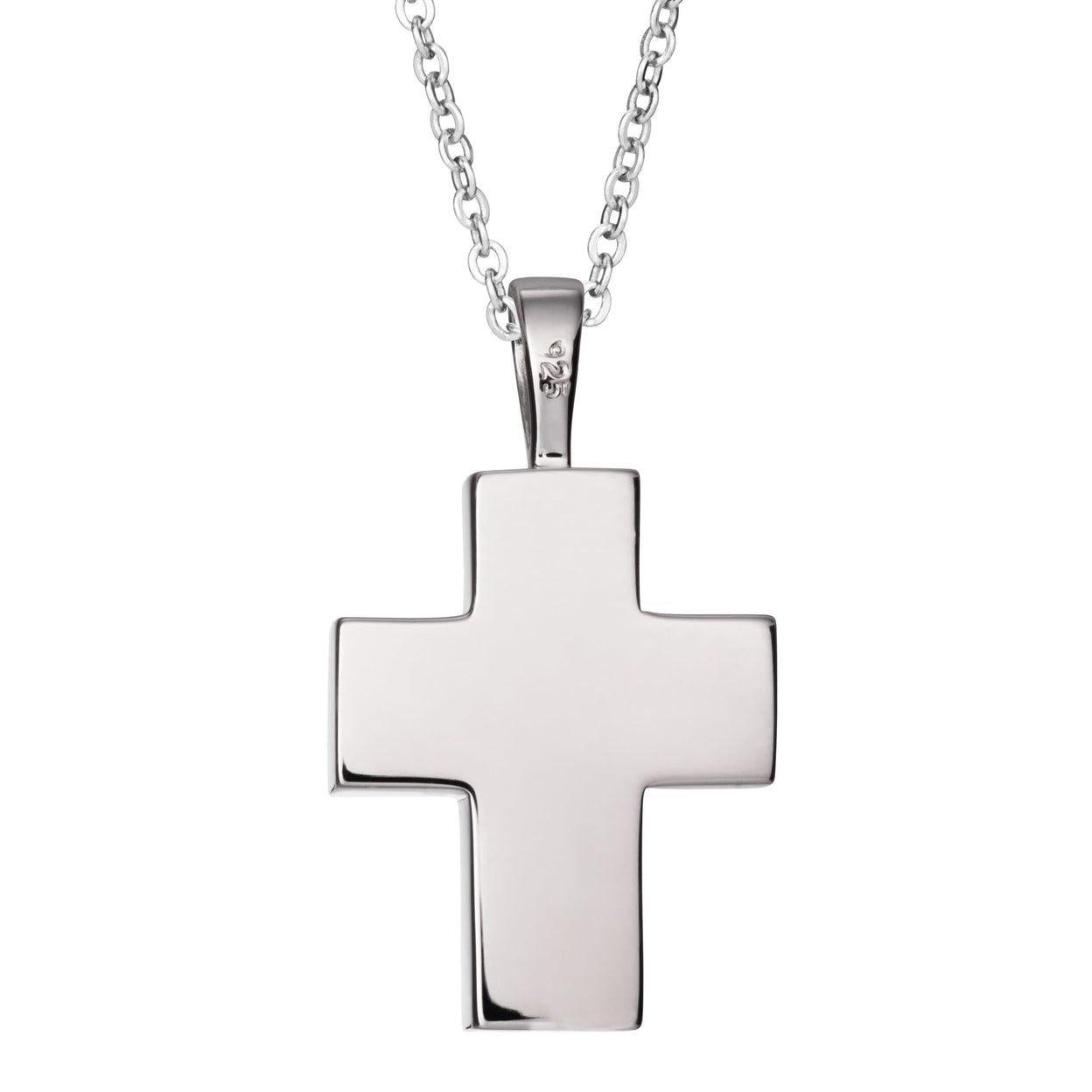 Load image into Gallery viewer, EverWith™ Self-fill Cross Memorial Ashes Pendant with Crystals