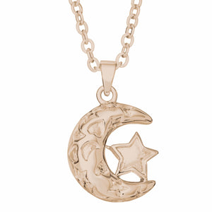 EverWith Self-fill Moon and Stars Memorial Ashes Pendant