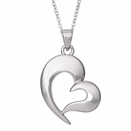 EverWith™ Self-fill Heart Cremation Ashes Pendant