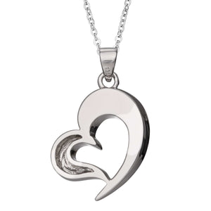 EverWith Self-fill Heart Memorial Ashes Pendant