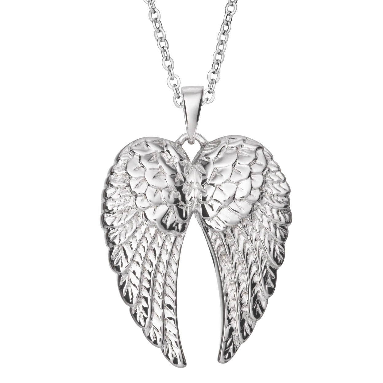 Load image into Gallery viewer, EverWith Self-fill Angel Wings Memorial Ashes Pendant