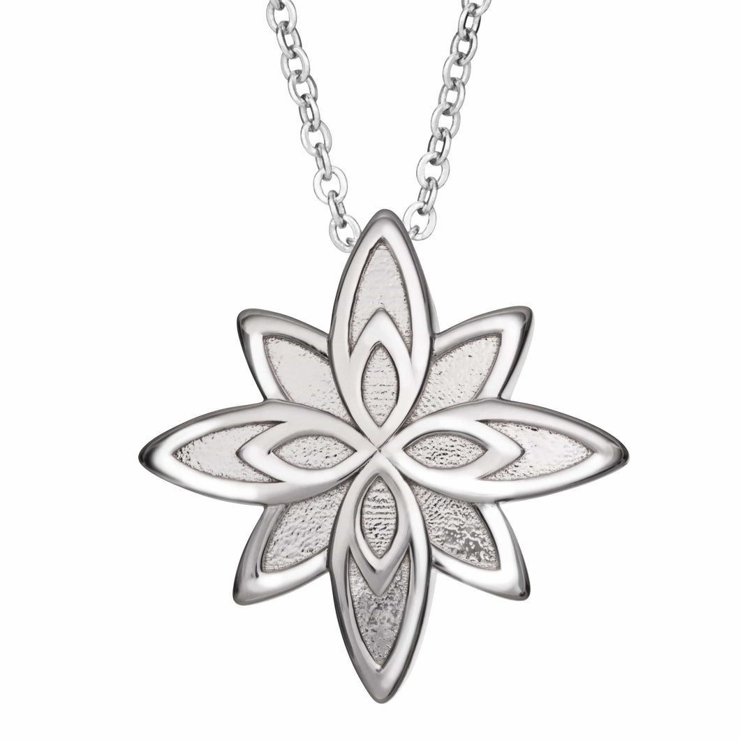 EverWith™ Self-fill Star Flower Cremation Ashes Pendant
