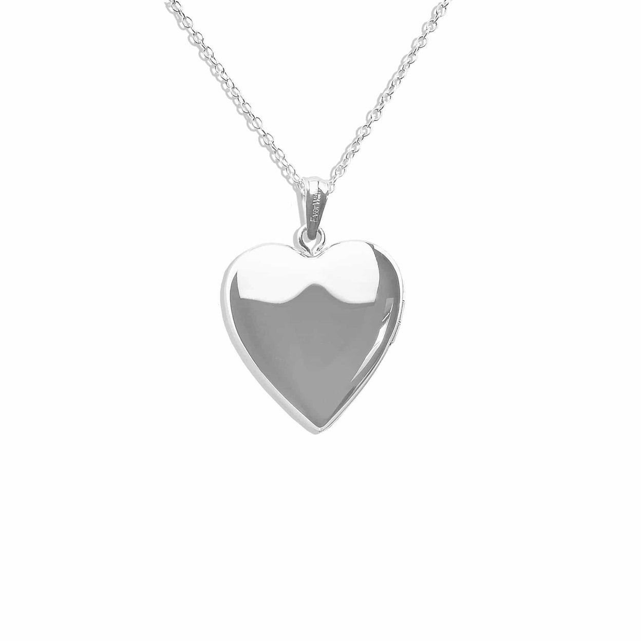 Load image into Gallery viewer, EverWith™ Mum Heart Shaped Sterling Silver Memorial Ashes Locket