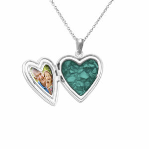 EverWith™ Tree of Life Heart Shaped Sterling Silver Cremation Ashes Locket