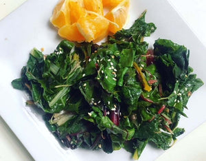 Garlic Greens & Goodness! - Bone Support Recipe