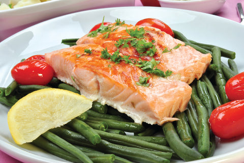 Fatty Fish like Salmon Help Boost Vitamin D