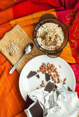 Decadent Chocolate-Cherry Oatmeal - Joint Health Support Recipe