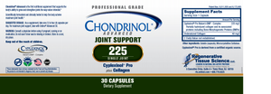 Chondrinol® Advanced 225mg Single Joint