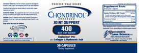 Chondrinol® Advanced 400mg Multi Joint Maximum (NOW AVAILABLE)