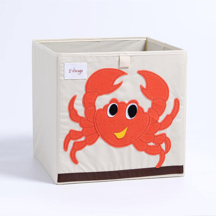 Cartoon Animal Folding Storage Box