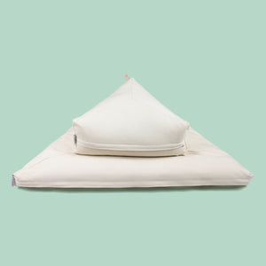 Nobl Modern Triangle Cushion Meditation